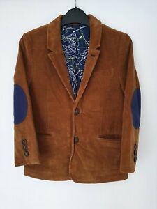 Mini Boden Boys Blazer/Jacket Elbow Patches Smart Age 7/8 Years
