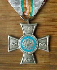polish merit cross for Silesian Uprisings, 1921-1939-1945, Wwii
