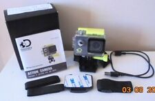 Discovery Adventures Underwater Action Camera Ultra HD 4K Wifi +8 GB Memorycard