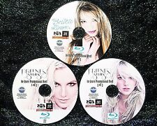BRITNEY SPEARS In-Store Promo Reel 68 Music Videos & Remix 3 BLU-RAY DVD Set
