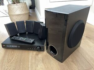 LG BH4030 5.1CH 3D BLU-RAY CINEMA SYSTEM 5 WIRED SATELLITE SPEAKERS & SUB WOOFER