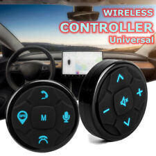 For Universal Car Steering Wheel GPS DVD Wireless Button Key Remote +/- GPS