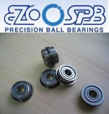 1 EZO Premium Miniatur Kugellager mit Bund / Flanschlager  MF105 ZZ  5x10x4 mm