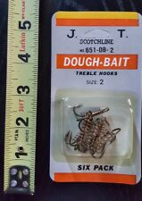 Scotchline 6-pack of Dough-Bait Treble Hooks size 2