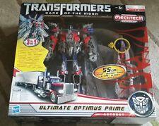 "VERY RARE - TRANSFORMERS - Mechtech -  Ultimate Optimus Prime Action Figure 22"""