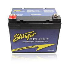 Stinger Select Ssb2000 2000 Watt Secondary Car Battery 12V Power Series Dry Cell