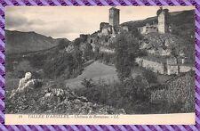 Tarjeta Postal - Valle D' Argeles - Castillo de Beaucons