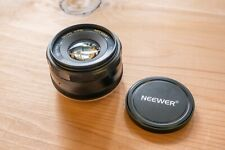 Neewer NW-E-35-1.7 35mm f/1.7 Manual Focus Prime Fixed Lens for Sony E-Mount NEX