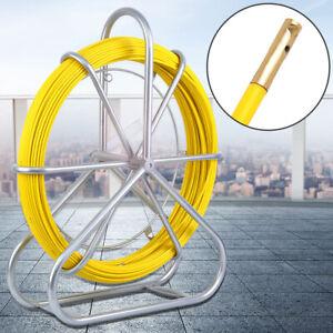 Cable de Fibra de Vidrio Barra Conducto Rodder Tirador de Cinta de Pescado