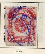 Colombia 1917 Early Issue Fine Used 3c. 301071