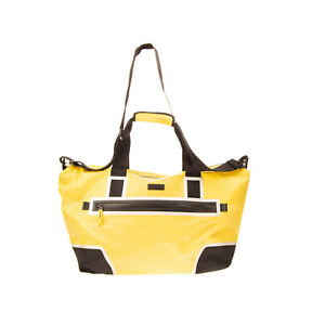 RRP €195 DIESEL Duffle Bag Large Perforated Panel Detachable Strap Zipped