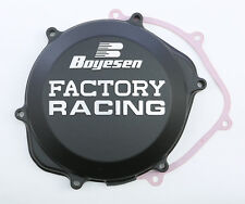 BOYESEN FACTORY RACING CLUTCH COVER (BLACK) CC-06B Fits: Honda TRX450R,CRF450R