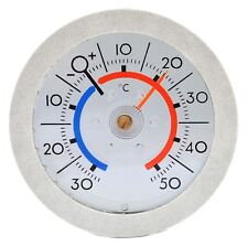 Fenster Scheiben Thermometer JUSTIERBAR Bimetall RICHTER Art. 12247