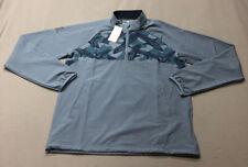 Adidas 1/2 Zip LS Golf Rain Pullover Jacket (S, Blue)(NWT) MSRP $100
