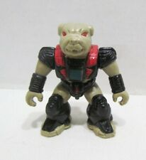 Battle Beasts 1987 Bludgeonly Bulldog Figure Vintage Hasbro Takara # 51