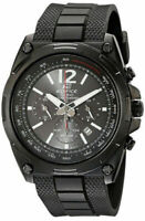 Casio Men's EFR-545SBPB-1B Edifice Tough Solar Black Watch Black Dial-WATCH ONLY