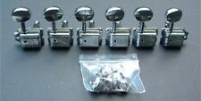 Guitar Parts WILKINSON Vintage Style - 6 In Line - TUNERS SET - CHROME