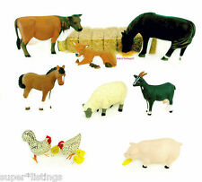 Dept. 56 Farm Animals Set of 8 Retired 2006 New England 56558 New