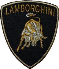 Lamborghini Logo F1 Motorsport Racing Badge Embroidered Patch 9cm