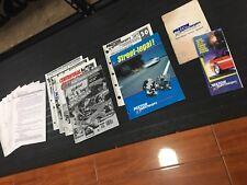 ⭐️⭐️⭐️ VINTAGE CORVETTE MUSTANG F150 CAMARO COBRA PAXTON SUPERCHARGER CATALOGS