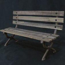 "1/6 Scalestore P0008 Scale store Scene WWII / Modern Park bench Brown 12"""