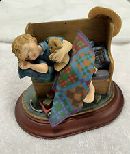 "Amish Heritage Collection 1996 Figurine ""Tuckered Out"" No Box Limited Edition"