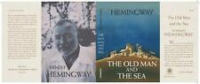 Facsimile Dust Jacket ONLY Ernest Hemingway The Old Man and the Sea 1st Edition