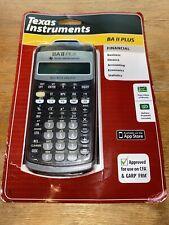 Texas Instruments BA II Plus Calculator - NIB - FREE SHIPPING!!