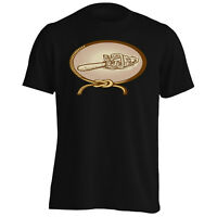 Retro Chainsaw Lasso Rope gift Men's T-Shirt/Tank Top f751m
