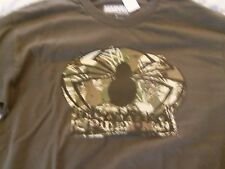 MARVEL COMICS SPIDERMAN TSHIRT CAMOUFLAGE SPIDER GREEN SIZE LARGE NEW CAMO