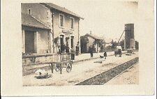 (S-19206) FRANCE - 17 - FERRIERES CPA CARTE PHOTO - INTERIEUR DE GARE      NON I