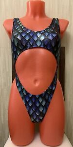SPEEDO rare vintage new super sexy monokini one piece swimsuit, size S-M