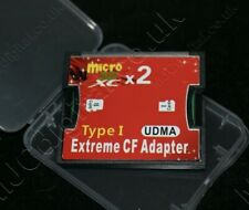 Micro SD SDHC SDXC TF to CF Adapter Standard Compact Flash Type I UDMA