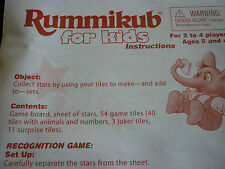 Pressman Rummikub Children's Board & Traditional Games