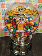 FORD GUM & MACHINE CO. INC. - 1 CENT GUMBALL MACHINE - VINTAGE