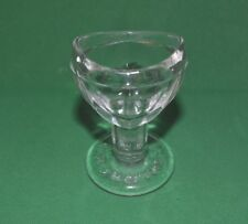 Old Vintage Glass Eye Wash cup from England 1930 Very Rare