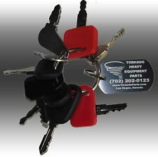 John Deere Heavy Equipment / Construction Ignition Key Set (9 Keys)