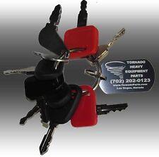 John Deere Heavy Equipment / Construction Ignition Key Set (9 Keys)
