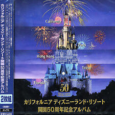 DISNEY - OFFICIAL ALBUM OF DISNEYLAND'S 50TH ANNIVERSARY NEW CD