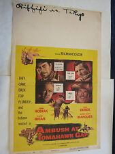 1953 Movie Poster AMBUSH AT TOMAHAWK GAP  #53/214  (GS19-6)