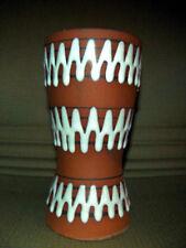 Vase 60s 70s Mid Century Scheurich Lounge Lava 17 cm