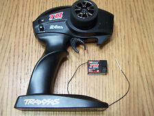 Traxxas TQ 2.4ghz 2 Channel Radio 3ch Receiver RX Transmitter TX Slash Rustler