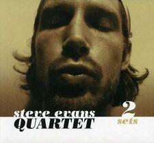 STEVE EVANS QUARTET - 2 Sets - 2007 Schema - SCCD 438 (Tom Waits , Nick Drake)
