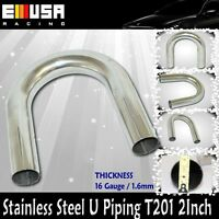 """Catalytic Stainless Steel Piping T201 45° 2.5/"""" 16 Gauge For Acura Integra BMW"""