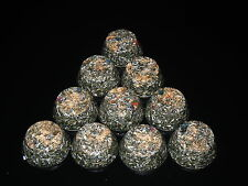 4 grandes orgone TB towerbusters rayonnement protecteurs shungite poudre pyrite jade