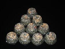 4 Large Orgone Tb Towerbusters Radiation Protectors Shungite Powder Pyrite Jade