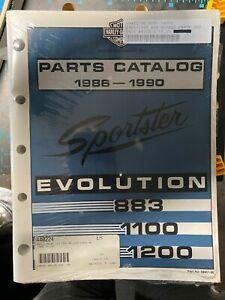 PARTS CATALOG XL MODELS 1986 - 1990 SPORTSTER HARLEY DAVIDSON 99451-90