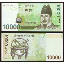 SOUTH KOREA  10.000 10000 Won 2007 UNC P 56