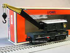 LIONEL CENTRAL NEW JERSEY CRANE CAR 48673 hoist 6-81023 o gauge train 6-81046