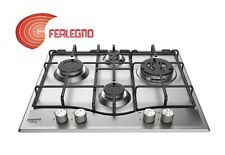 COOKTOP 60CM STAINLESS CONTROL FRONT TRIPLE RING PCN642TIXHA ARISTON